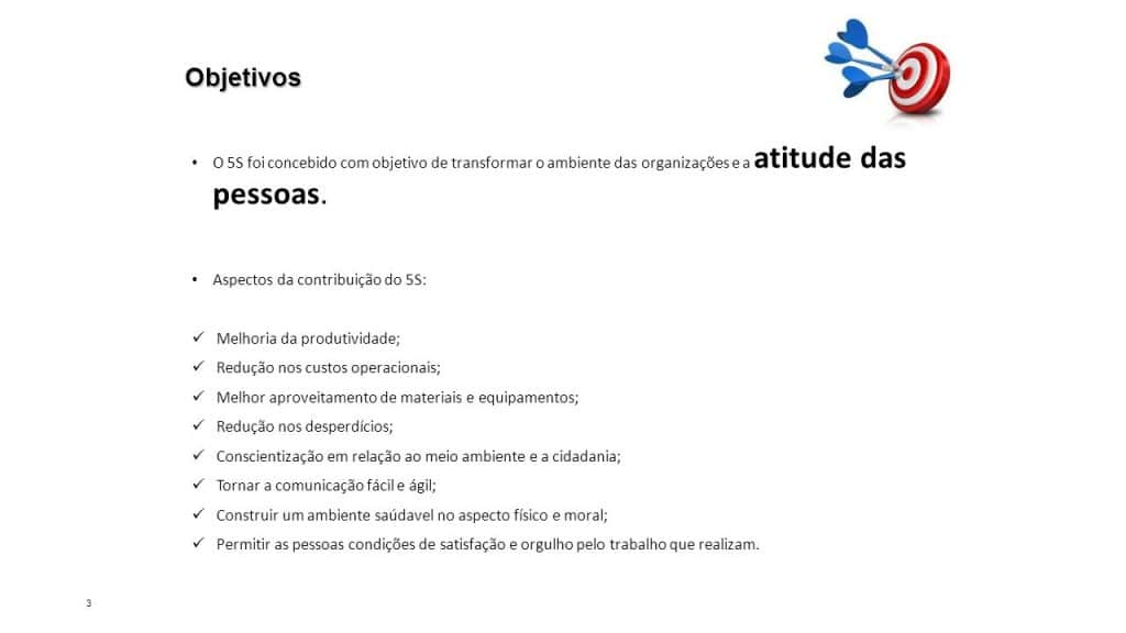 Objetivos 5s
