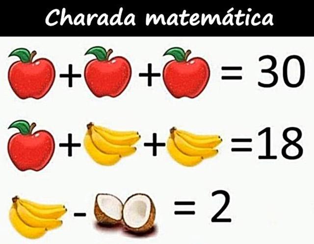 Charadas matemáticas