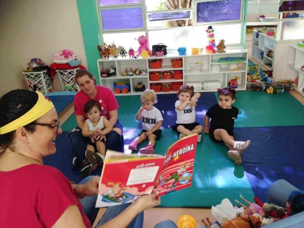 contação de historias na educação infantil