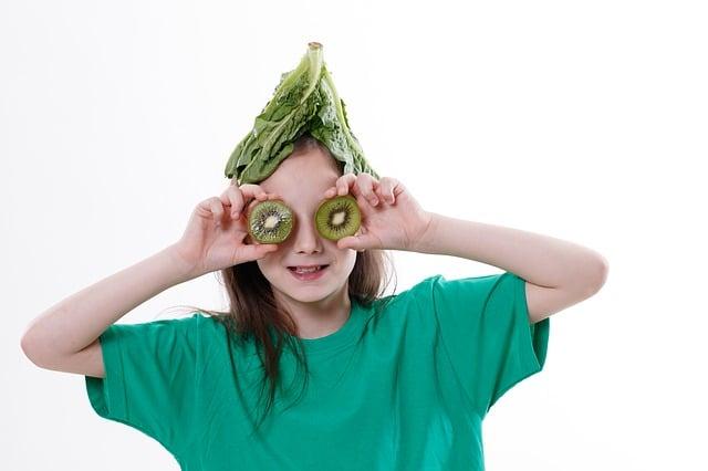 Crianças vegetarianas