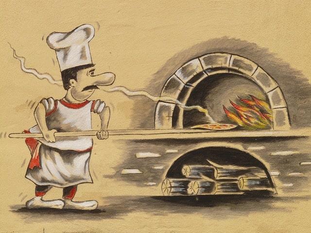 História da pizza