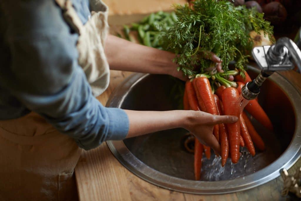 cuidados com os alimentos e higienização