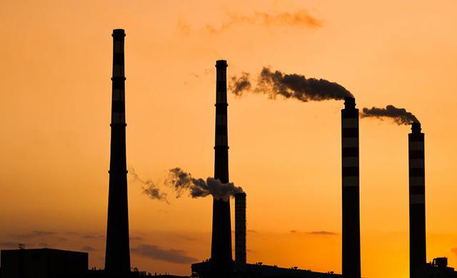 No que consiste a política de redução da emissão de carbono?