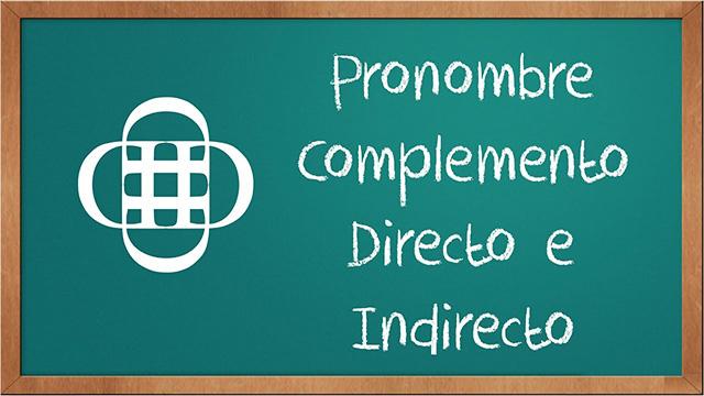 Pronombre Personal Complemento
