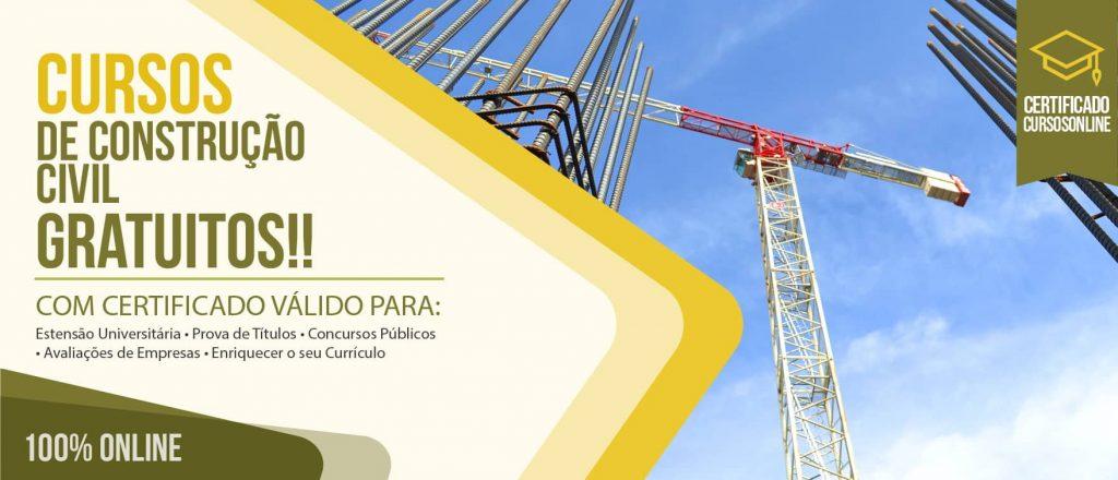 1870072691804 Cursos de Construção Civil  Com Certificado Válido