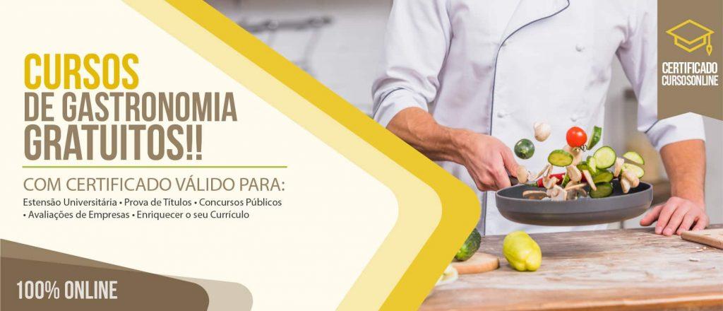 Cursos de Gastronomia Online