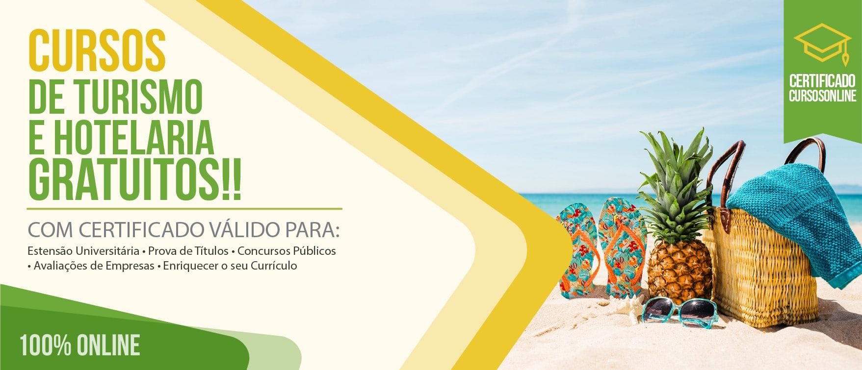 Cursos de Turismo e Hotelaria