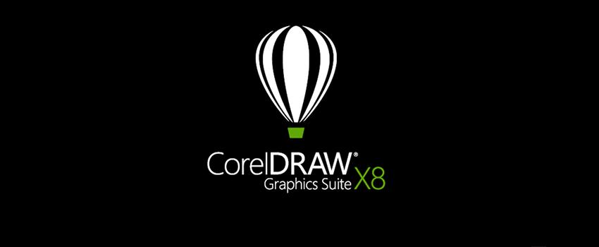 Capa do curso de corel draw x8