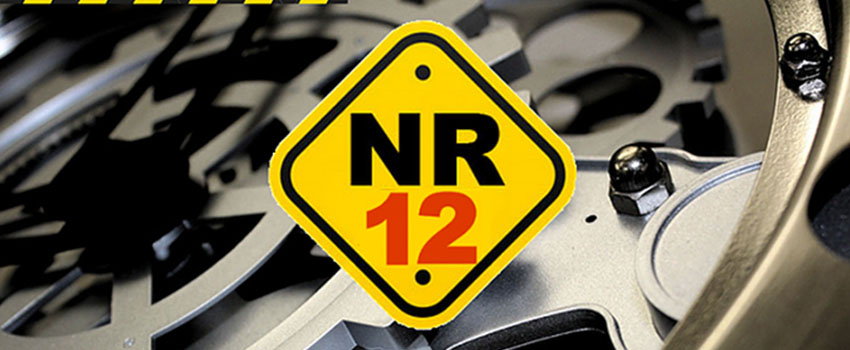 Capa do curso de NR 12
