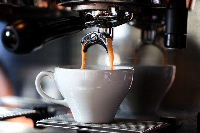 A Máquina de Café Espresso